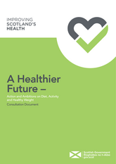 cover of Scottish Government's consultation document