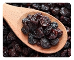 Photograph of raisins