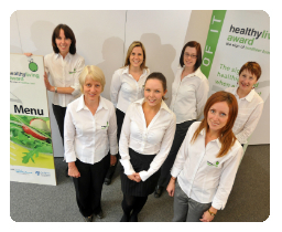 Photo of the HLA team